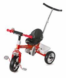 rowerek trójkołowy z pchaczem